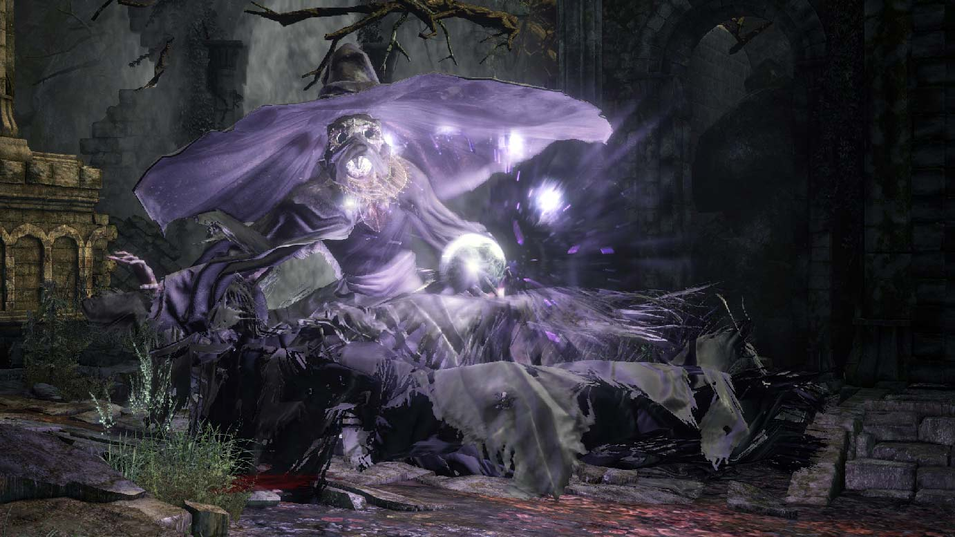 ds3 how to kill crystal sage as as sorcerer