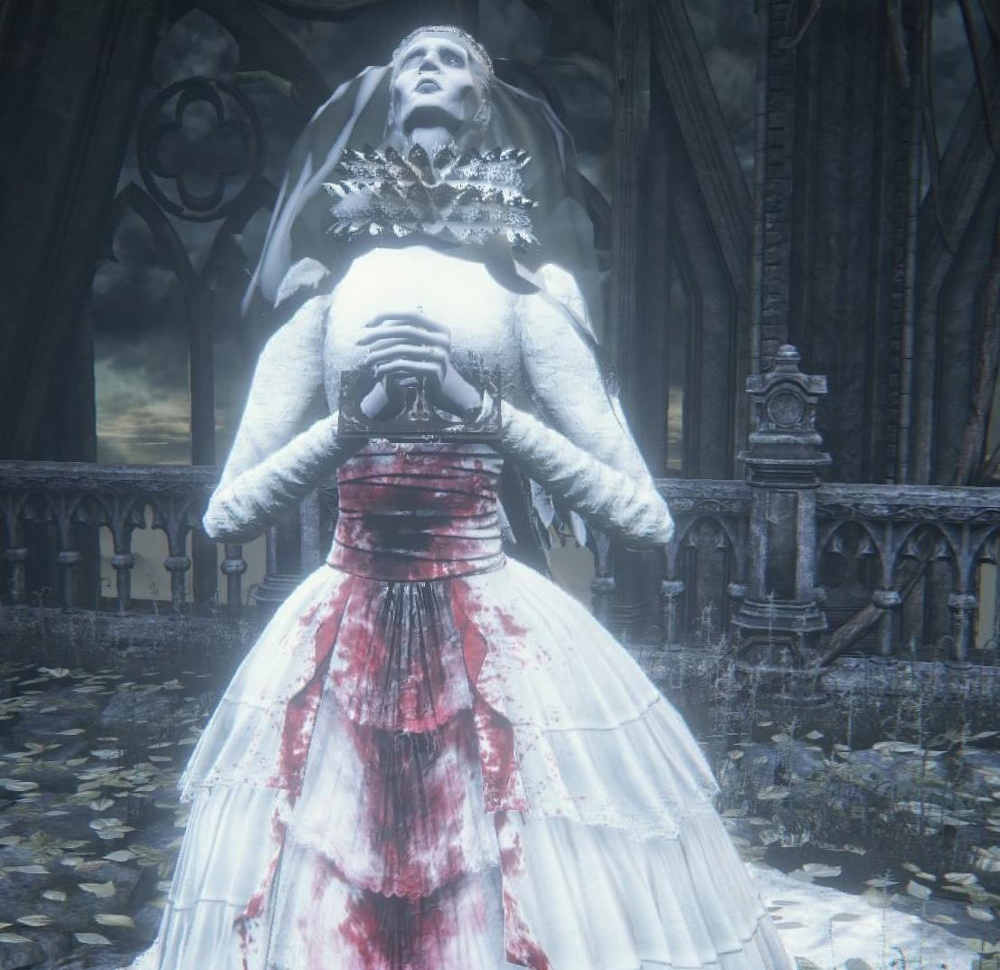 Yharnam Pthumerian Queen Souls Lore