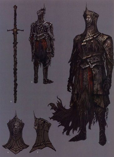 Burnt ivory king souls lore