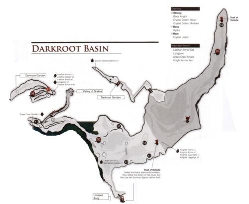 Darkroot Basin - Souls Lore